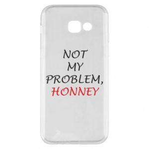 Etui na Samsung A5 2017 Not my problem, honny