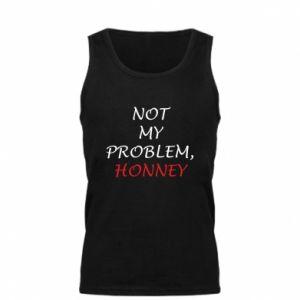 Męska koszulka Not my problem, honny