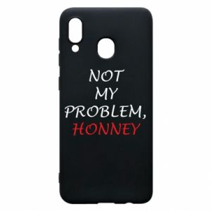 Etui na Samsung A30 Not my problem, honny