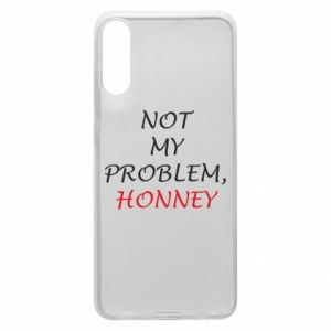Etui na Samsung A70 Not my problem, honny