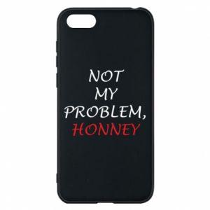 Etui na Huawei Y5 2018 Not my problem, honny