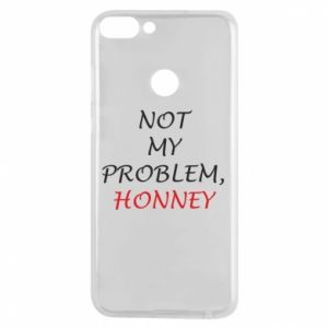 Etui na Huawei P Smart Not my problem, honny