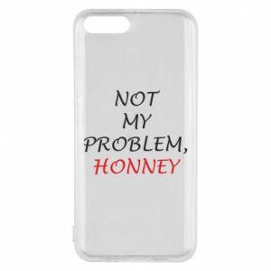 Etui na Xiaomi Mi6 Not my problem, honny