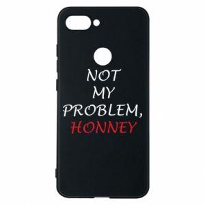 Etui na Xiaomi Mi8 Lite Not my problem, honny