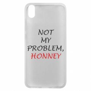 Etui na Xiaomi Redmi 7A Not my problem, honny