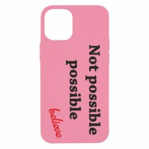 Etui na iPhone 12 Mini Not possible possible