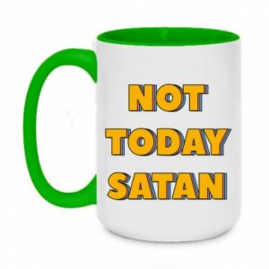 Kubek dwukolorowy 450ml Not today satan