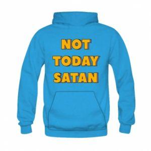 Bluza z kapturem dziecięca Not today satan