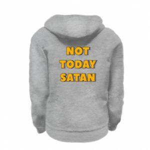 Bluza na zamek dziecięca Not today satan