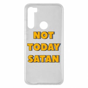 Etui na Xiaomi Redmi Note 8 Not today satan