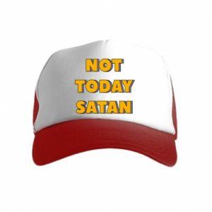 Czapka trucker dziecięca Not today satan