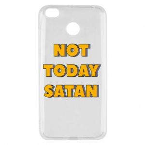 Etui na Xiaomi Redmi 4X Not today satan