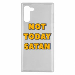 Etui na Samsung Note 10 Not today satan