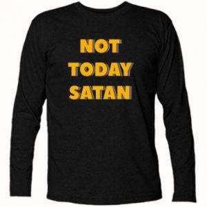 Koszulka z długim rękawem Not today satan