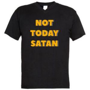 Męska koszulka V-neck Not today satan