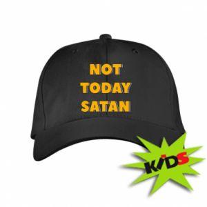 Dziecięca czapeczka z daszkiem Not today satan