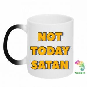 Kubek-kameleon Not today satan