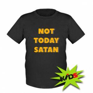 Koszulka dziecięca Not today satan