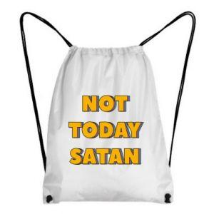 Plecak-worek Not today satan