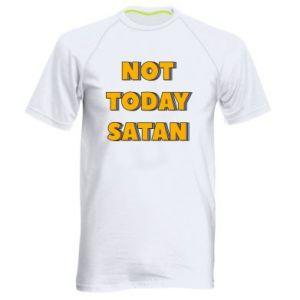 Męska koszulka sportowa Not today satan