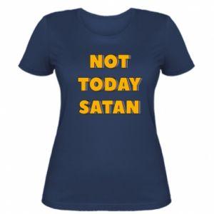 Koszulka damska Not today satan