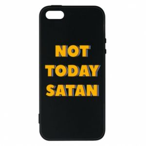 Etui na iPhone 5/5S/SE Not today satan