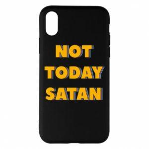 Etui na iPhone X/Xs Not today satan