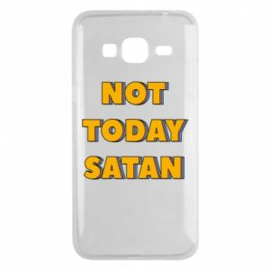 Etui na Samsung J3 2016 Not today satan