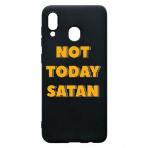Etui na Samsung A20 Not today satan