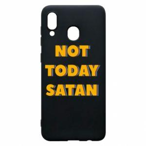 Etui na Samsung A30 Not today satan