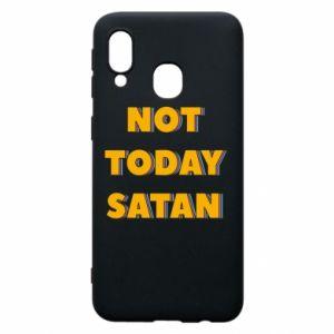 Etui na Samsung A40 Not today satan