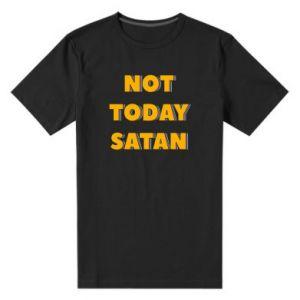 Męska premium koszulka Not today satan