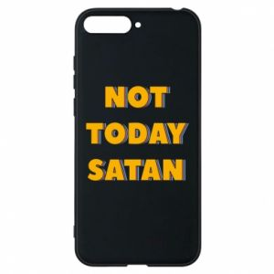 Etui na Huawei Y6 2018 Not today satan