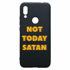 Etui na Xiaomi Redmi 7 Not today satan