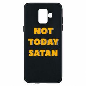 Etui na Samsung A6 2018 Not today satan