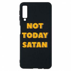 Etui na Samsung A7 2018 Not today satan
