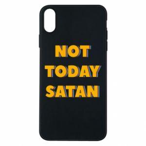 Etui na iPhone Xs Max Not today satan