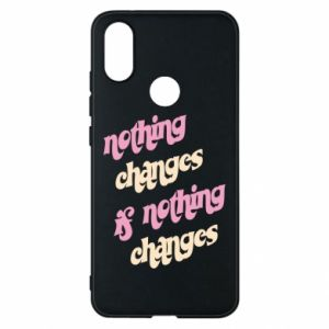 Etui na Xiaomi Mi A2 Nothing changes if nothing changes