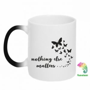 Kubek-kameleon Nothing else matter