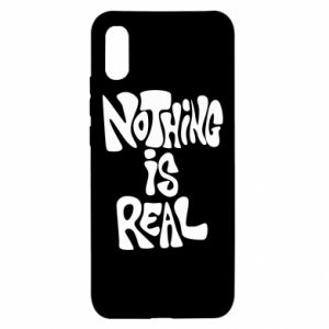 Etui na Xiaomi Redmi 9a Nothing is real