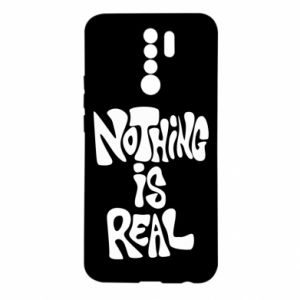 Etui na Xiaomi Redmi 9 Nothing is real