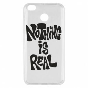 Etui na Xiaomi Redmi 4X Nothing is real