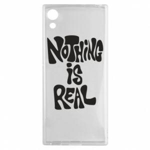 Etui na Sony Xperia XA1 Nothing is real