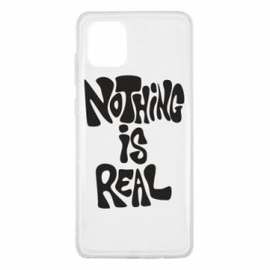 Etui na Samsung Note 10 Lite Nothing is real
