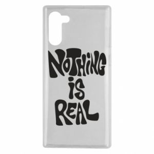 Etui na Samsung Note 10 Nothing is real