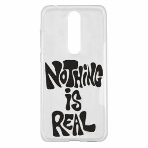 Etui na Nokia 5.1 Plus Nothing is real