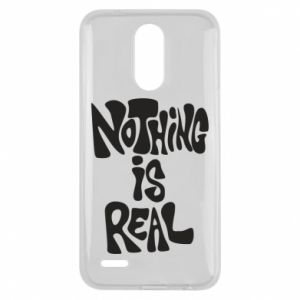 Etui na Lg K10 2017 Nothing is real