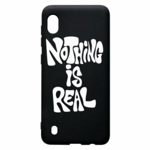 Etui na Samsung A10 Nothing is real