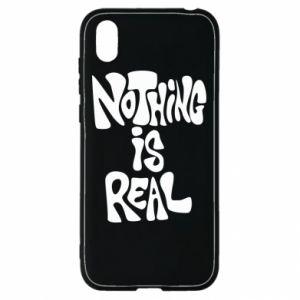 Etui na Huawei Y5 2019 Nothing is real
