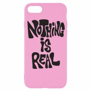 Etui na iPhone SE 2020 Nothing is real